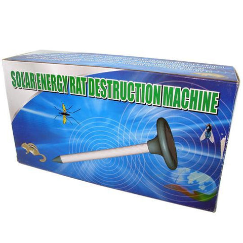 Solar Energy Rat Destruction Machine