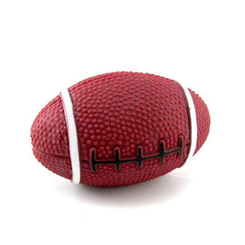 Squeaky Rugby Ball Dog Toy