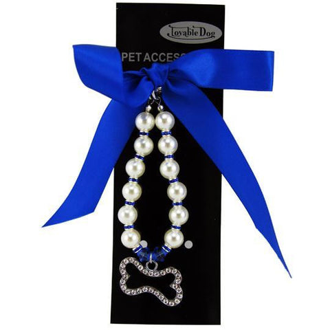 Pearl Necklace Pet Jewelry
