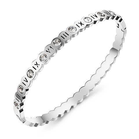 Lucky Rome digital Diamond Rose Bracelet Bracelet