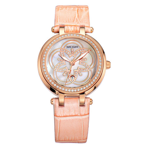 Women Fashion Quartz Watches Leather Young Sports Casual Dress Wristwatches Relogios Feminino