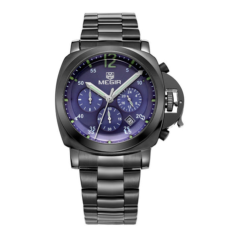 Fashion Men's Quartz Watches Quality Military Luxury Brands with Luminous Pointer with Luminous