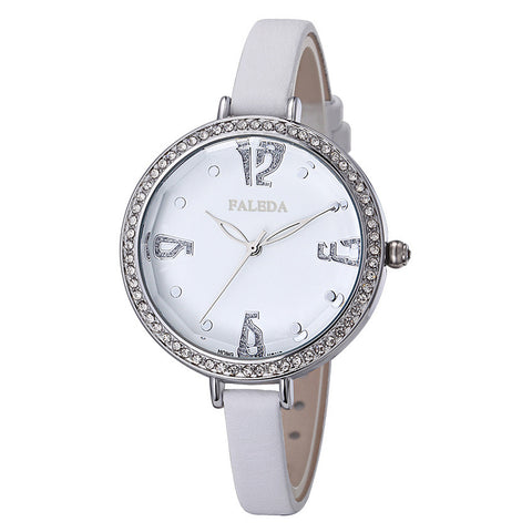 Womens Watches Top Fashion Brand of HongKong Leater Ladies Wristwatch Waterproof Quartz Watches