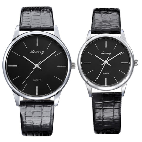 Women Watches Inveted Square Diamond Thinner Dial 2 pointer Leather Waterproof Ladies Quartz Watch