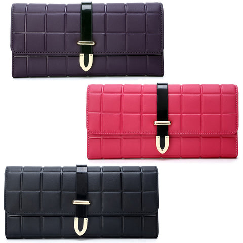 New spring and summer of 2016 case grain long Ms. Han edition patent leather women's fashion-Color Purple