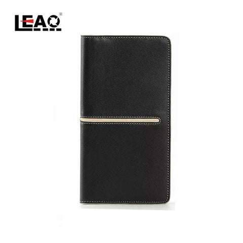 Man's fashional long wallet-Color Black