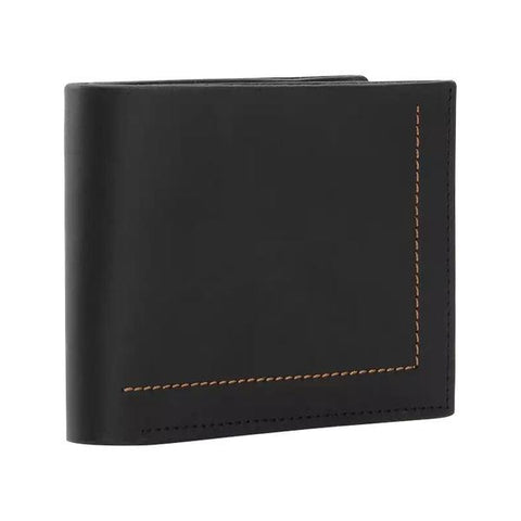 Man's fashional short wallet-Color Black