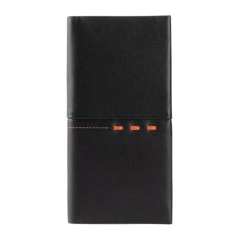 Man's fashional long wallet-Color Brown