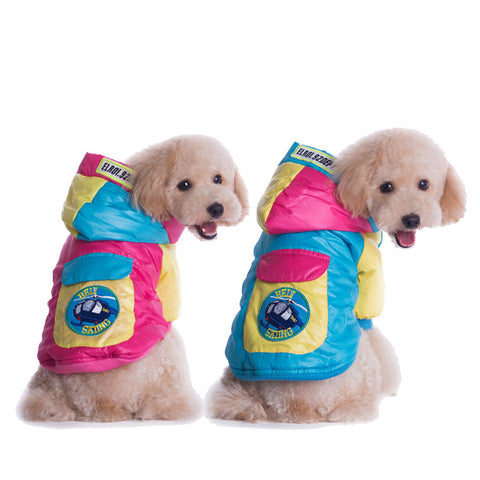 New pet pet clothing-Color Rosered