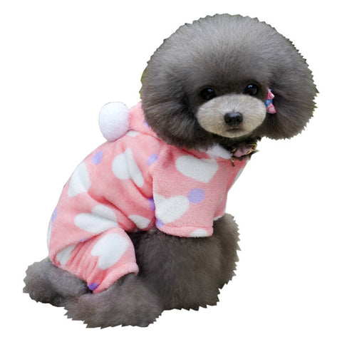 Pet pet clothes cotton four legged dog clothes pet clothing