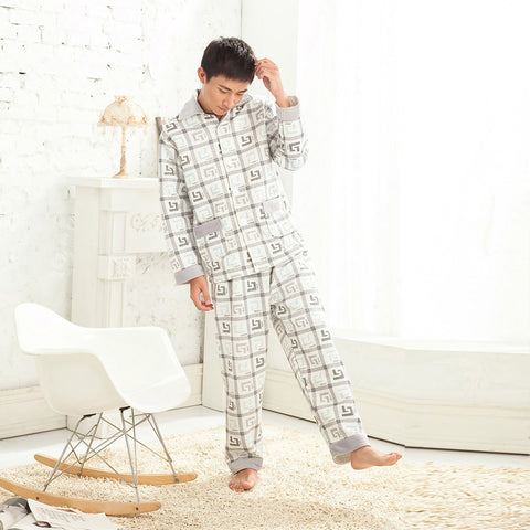 Suzle Timeless Pattern Cotton Pajama (Men)