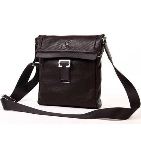 Byarms Stylish Men's Leather Shoulder Bag Casual Fashion