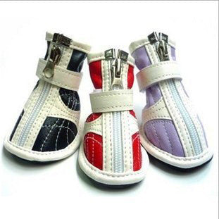 Pet Clothing Shoes Dog Sneakers Non-Slip Sole Boots