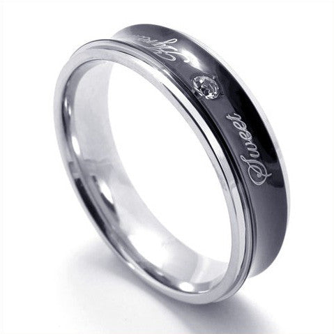 Special Designed Titanium Steel Ring for Men's Fashion & Jewelry
