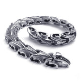 Titanium Steel Ram Head Links Bracelet