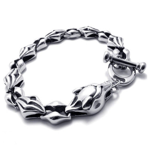 316L Titaium Steel Retro Fashion Jewelry Bracelets for Men's Styles