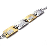 316L Titanium Steel Ladies Square Bracelet for Women's Styles Fashion