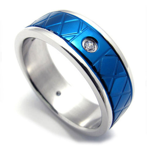 Men & Woman's Couples Ring Made of Titanium Steel 316L Jewelry