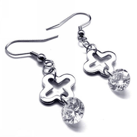 High Quality Jewelry 316L Titanium Earrings Steel