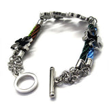 Steel 316L Titanium Constructed Bracelet Jewelry-Color Golden