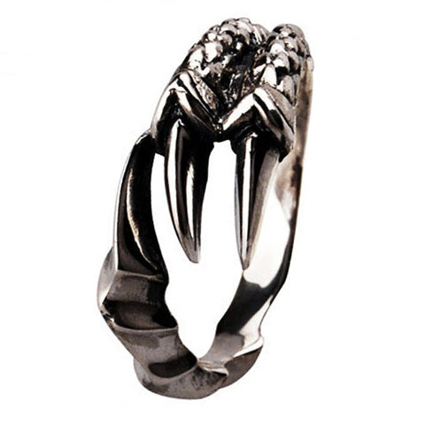 Eagle Talon Ring .925 Thai Silver Material High Quality Fashion Jewelry