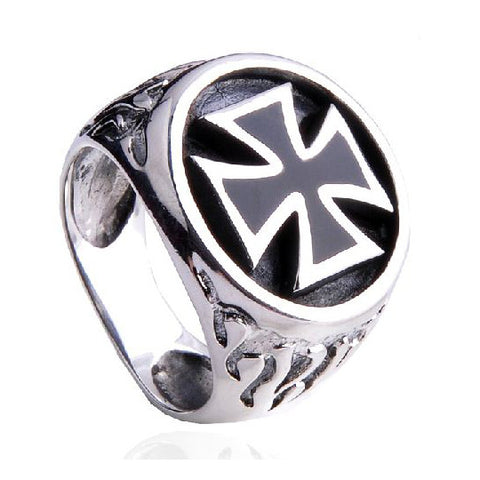 Iron Cross Ring .925 Silver Jewelry for Men's Styles Jewelers