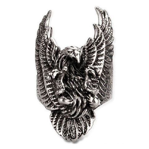 American Eagle Ring .925 Silver Jewelers for Men's Fashion & Fine Jewelry