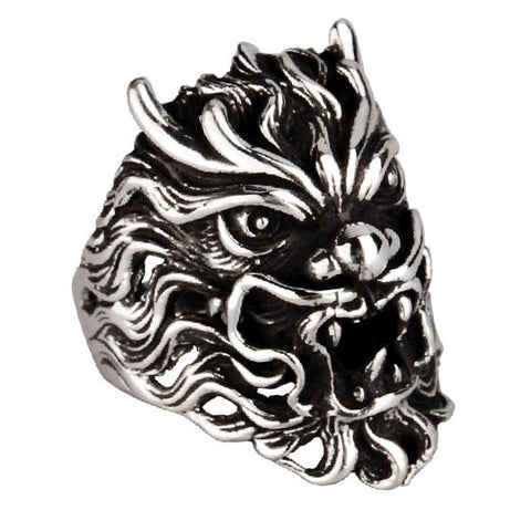 Cool Demon Jewelry for Men's Fashion .925 Silver Materials Fine Jewelers