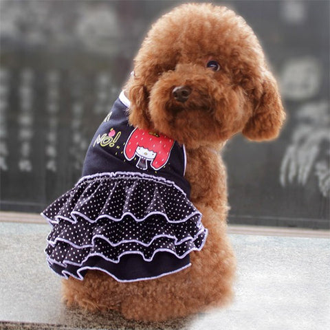 Shop Dog Gear Polka Dot Skirt Dress for Pet Clothes & Apparel Store