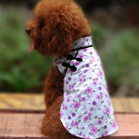 Oriental Cheongsam Shirt Fashion for Dog & Pet Clothes Store Online
