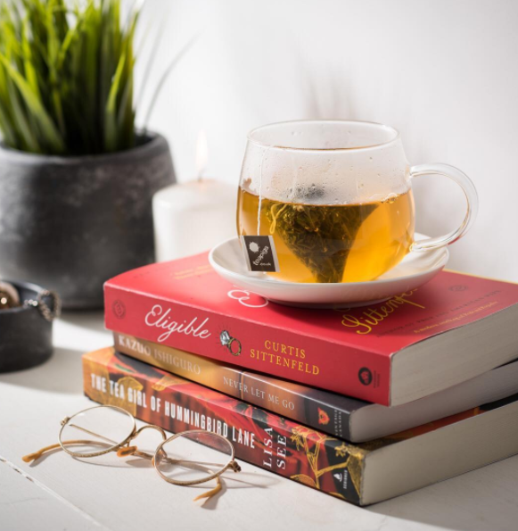 A Perfect Pair: A Cuppa teapigs + A Good Read