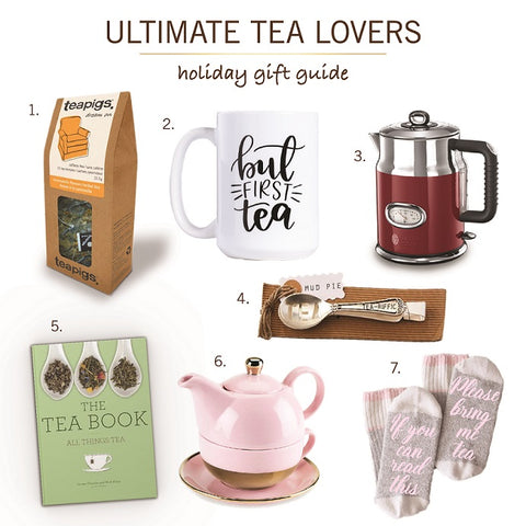 """Ultimate Tea Lovers"" Holiday Gift Guide"