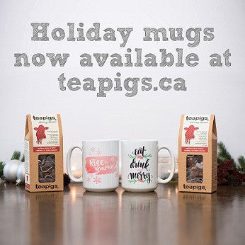 It's a teapigs kind of holiday!