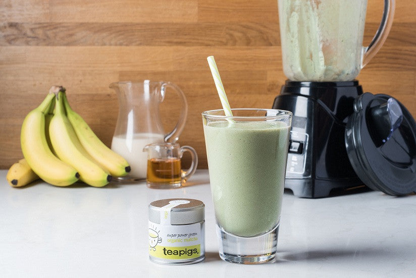 matcha breakfast smoothie