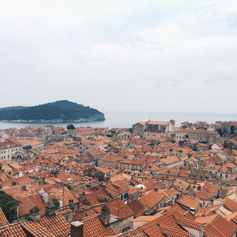 VIEW FROM CITY WALLS - OLD TOWN, DUBROVNIK