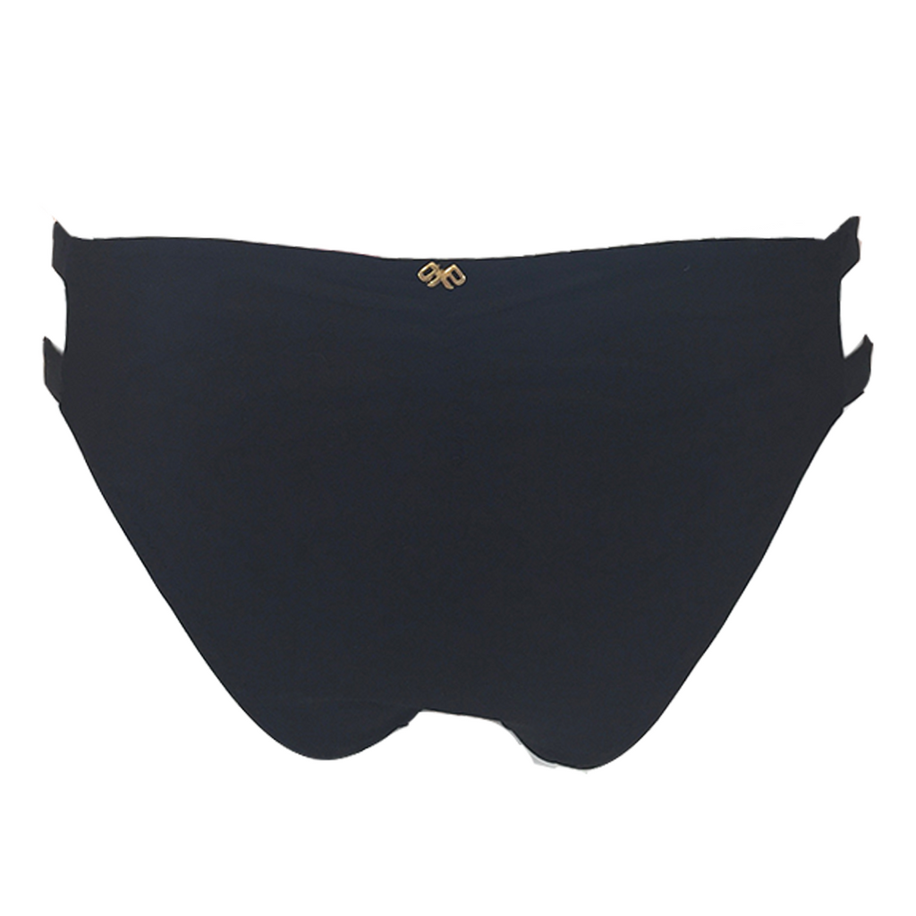 Pily Q Strappy Madrid Hipster Bottom - Full in Midnight - Lido West