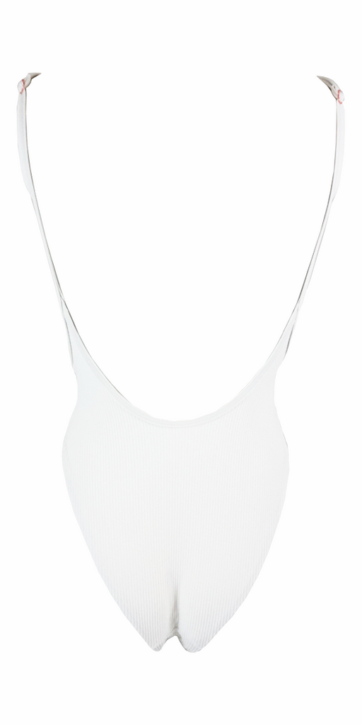 Frankie's Bikinis Adele One Piece in White - Lido West