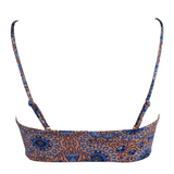 Frankie's Bikinis Joy Top in Moroccan Blues - Lido West