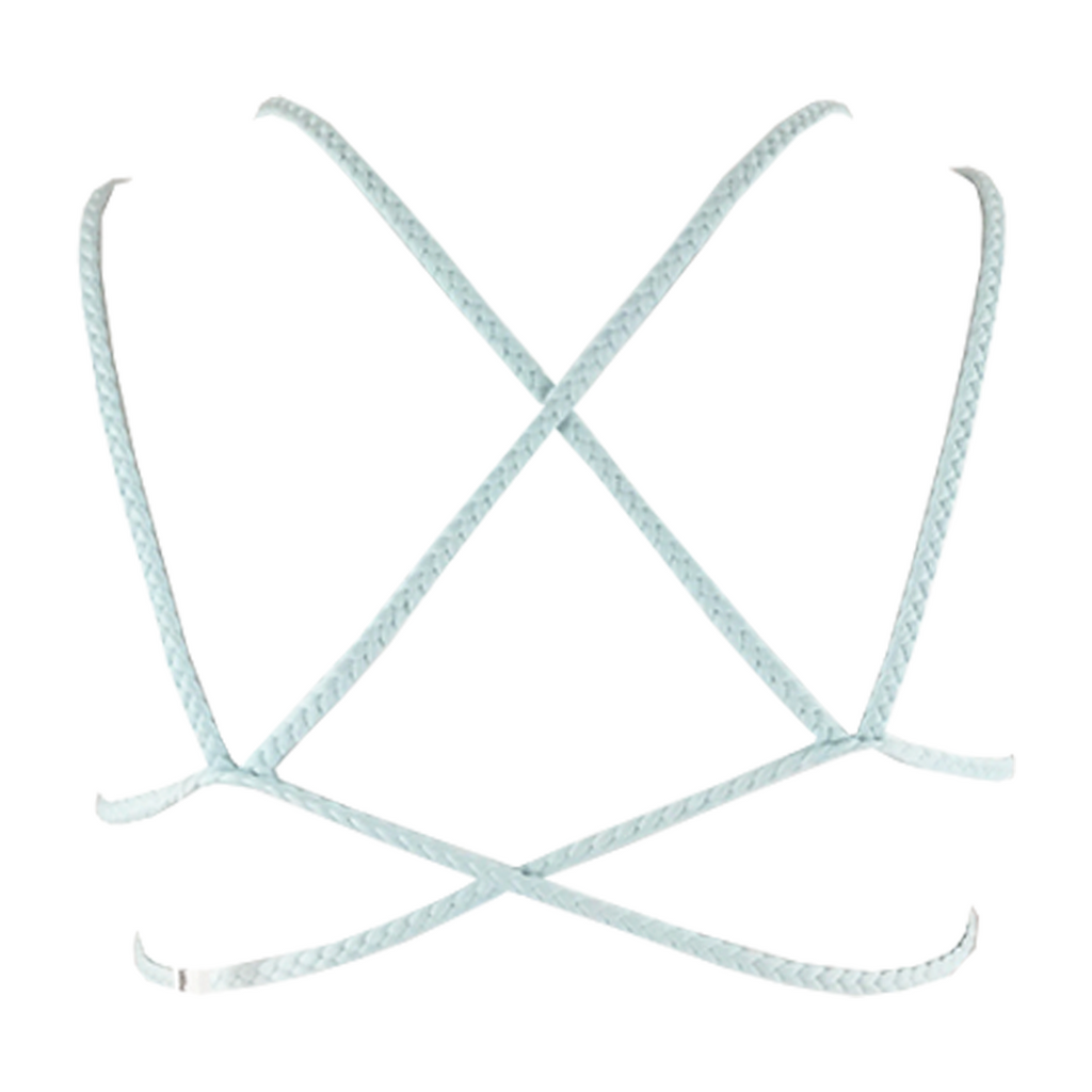 Frankie's Bikinis Kaia Top in Mist - Lido West