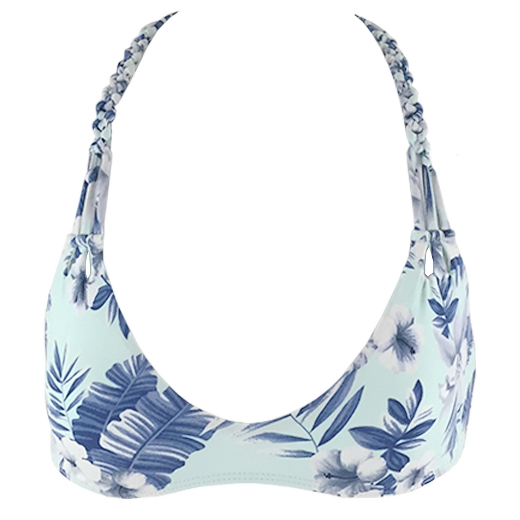 Frankie's Bikinis Marina Top in Hawaiian Mist - Lido West