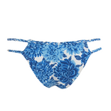 Frankie's Bikinis Mimi Bottom in Blue Dahlia - Lido West