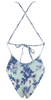 Frankie's Bikinis Poppy One Piece in Hawaiian Mist - Lido West