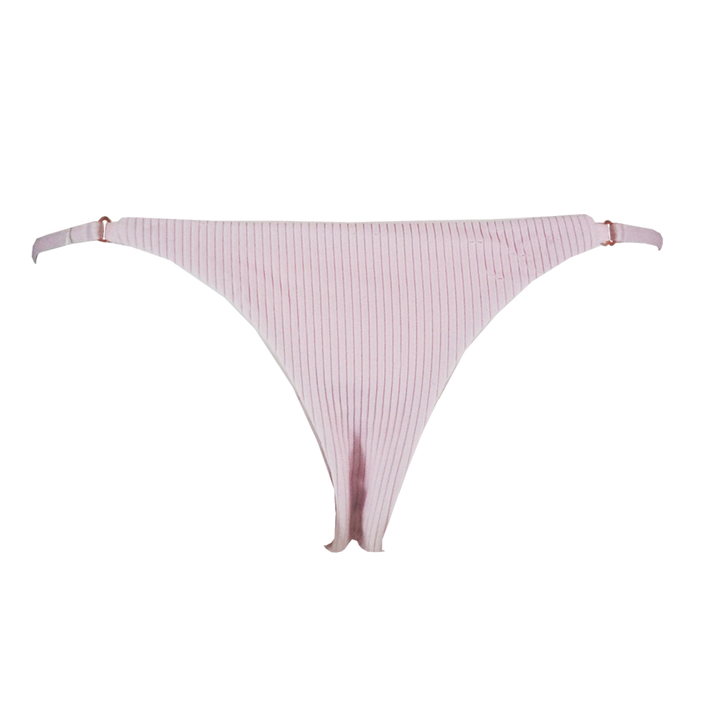 Frankie's Bikinis Scarlett Bottom in Rose Water