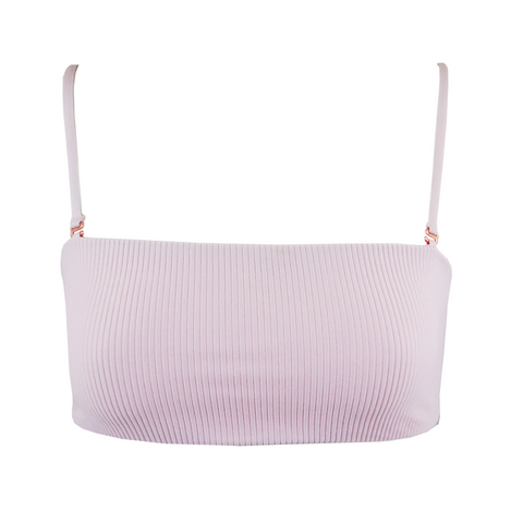 Indah Gin Rib Bottom in White