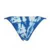 Frankie's Bikinis Shiloh Bottom in Blue Crush Tie Dye - Lido West