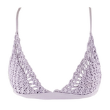 Frankie's Bikinis Stella Top  in Lavander - Lido West