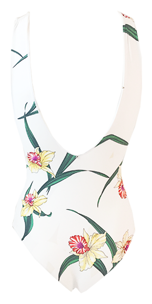 Indah Rainey One Piece in Lush Lily - Lido West