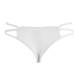 Indah Hood Lace Trim Bottom in White - Lido West