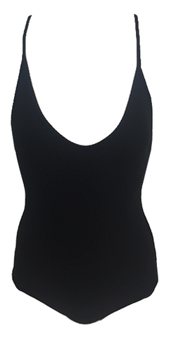 Indah Playground One Piece in Black