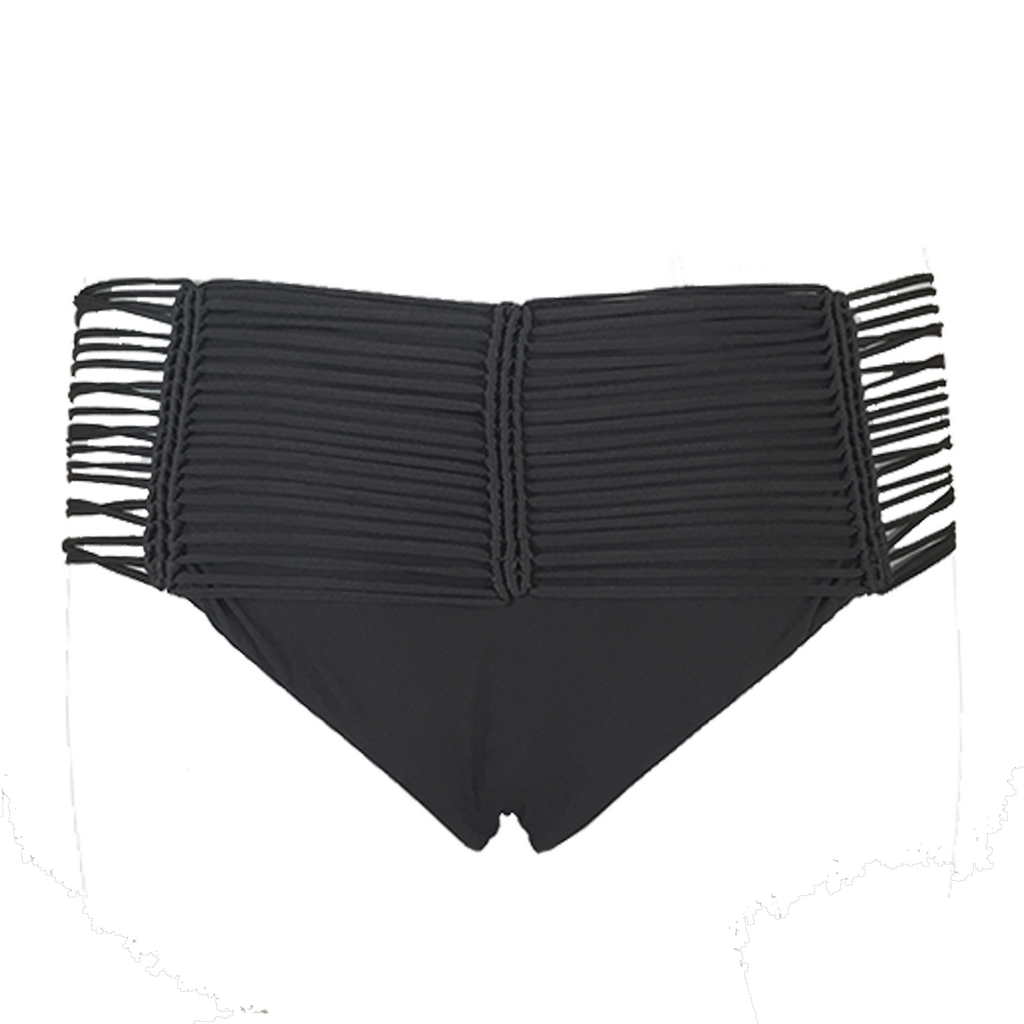 Indah Fallen Macrame Bottom in Bear - Lido West